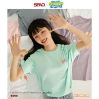 SPAO ✖️海绵宝宝联名 女士短袖T恤 SPRLB25D25