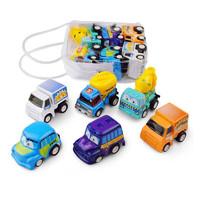贝利雅 儿童卡通玩具车 6辆装