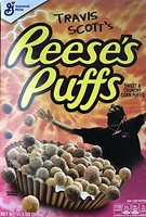 Reese's Puffs Cereal by Travis Scott
