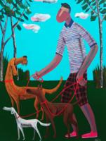 维格列艺术 Kitti Narod 《IT程序员》60×80cm 版画 艺术微喷