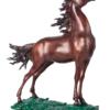 阿斯蒙迪 陈金庆《御风逐香远》47×21X45cm 雕塑 青铜 限量199件
