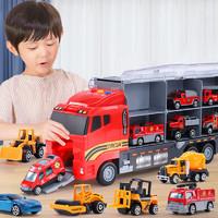 The North E home 北国e家 儿童合金货柜车玩具