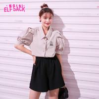elf sack 妖精的口袋 1020_AL1149 女士泡泡袖衬衫
