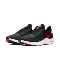 NIKE 耐克 Zoom Winflo 6 男子跑鞋 AQ7497-008 黑红 40.5