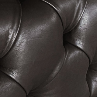 NORHOR DESIREE PF0501 真皮双人沙发 深褐色