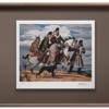 徐松波《唐风-高秋》55.6×64cm 装饰画 签名限量丝网版画