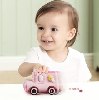 babycare WLA002-A 搪胶小车 小熊 18个月以上