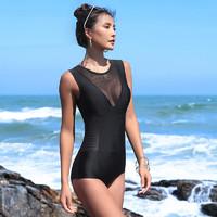 FASIBETTS  K6015 女士连体泳衣