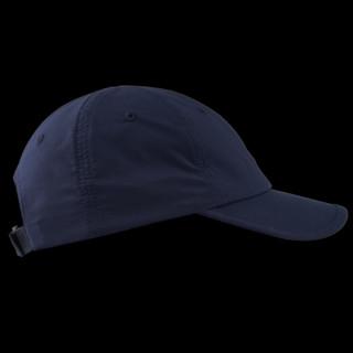 单导 遮阳帽男女防晒帽休闲百搭防晒太阳帽骑车出行遮脸可折叠帽子 黑蓝色 均码