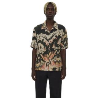 OUR LEGACY 中性印花短袖衬衫 M2212BSPP
