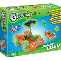 GREENEX儿童物理电路stem科学实验小学生手工科技小制作小发明科普diy益智太阳能汽车玩具男孩