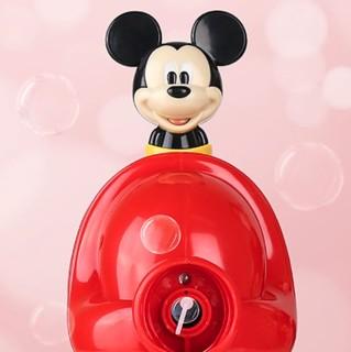 Disney 迪士尼 米奇米妮系列 FPA008 电动泡泡机 红色