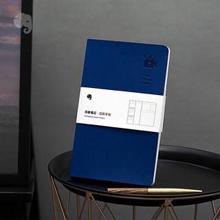 印象笔记 观影手册观影记录笔记本子摘抄摘记观影手账本 蓝色
