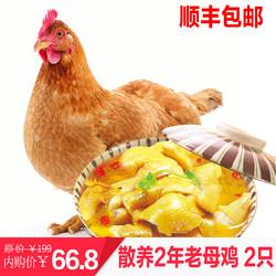 老母鸡 净重约1kg*2只