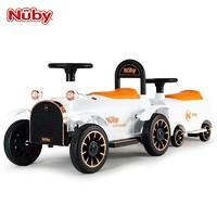 Nuby 努比 儿童电动车 小火车车头+1节车厢【滑行款】