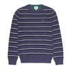 LACOSTE 拉科斯特 AH8152-981U4 男士鳄鱼潮流条纹针织衫