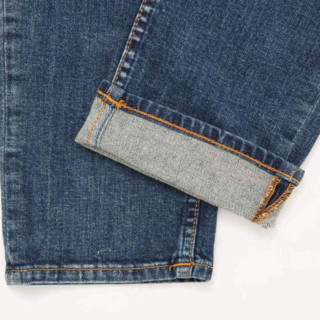 Nudie Jeans 男士牛仔裤 113465 牛仔蓝 30