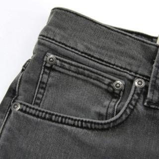 Nudie Jeans 男士牛仔裤 1129280 灰色 W33 L32