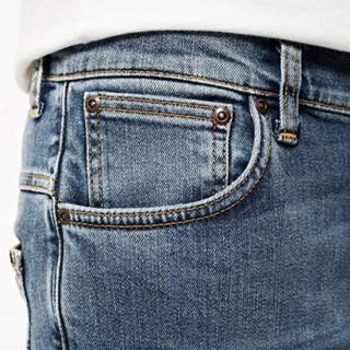 Nudie Jeans 2020秋冬系列 男士牛仔裤 52161-1149-160 碎蓝 W28x30