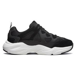 SKECHERS 斯凯奇 Skechers斯凯奇男鞋2020夏季新款黑色运动鞋网面透气休闲鞋51937