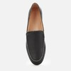 Harper 女士皮革乐福鞋 黑色