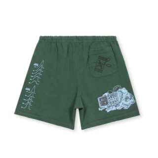 BRAIN DEAD 突变序列系列 男女款短裤 BDF20B14001608GR02