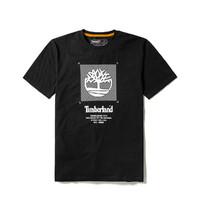 Timberland 男款休闲印花圆领短袖T恤