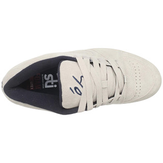 éS  SKATEBOARDING 男士休闲滑板鞋 B004H1TYY6 灰色/海军蓝 44