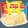 乐事 薯片大包装多口味膨化零食大包薯片办公室小吃休闲零食  混合口味40g*10包