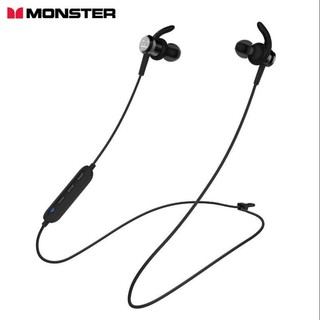 MONSTER 魔声 N-Tune300 颈挂式蓝牙耳机 黑色