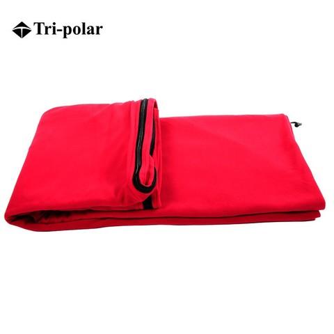 Tri-polar 三极户外(Tripolar) TP2900 睡袋内胆抓绒单人舒适露营成人休闲旅行便携保暖隔脏睡袋