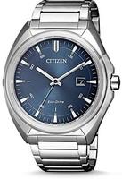 CITIZEN  男士指针式石英手表不锈钢表带 AW1570-87L