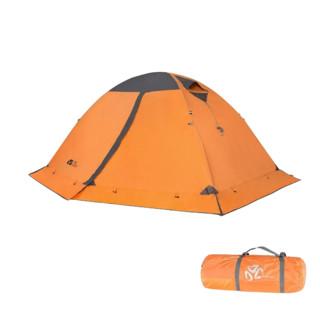 MOBI GARDEN 牧高笛 冷山2plus 帐篷 NXZQU61017 红灰色 2人