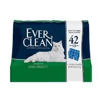 Ever Clean 铂钻高端猫砂 活性炭除臭猫砂 42磅