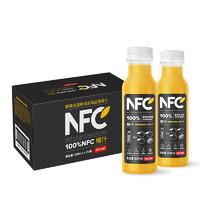 NONGFU SPRING 农夫山泉 NFC果汁饮料 橙汁 300ml*2瓶