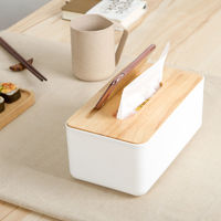 宜尚家 家用抽纸盒 17.2*18*9.7cm