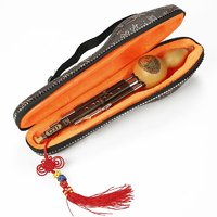 相思鳥 葫蘆絲樂器 三音C調 雙白銅紫竹梅花扣葫蘆絲 民族管弦樂器初學 XS2036