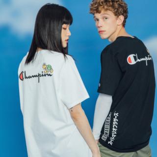 Champion 马里奥联名系列 男女款圆领短袖T恤 UM-STS07