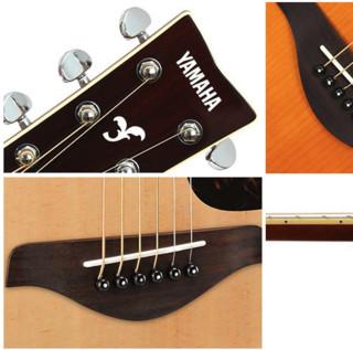 YAMAHA 雅马哈 FG800M系列 FGX800CVN 民谣吉他 40寸 原木色 亮光