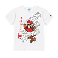 Champion 马里奥联名系列 女士短袖T恤 UW-STS01 白色 M