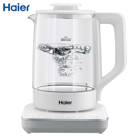 Haier 海尔(Haier)婴儿恒温调奶器 电热水壶烧 HBM-I12调奶器(1.2L)