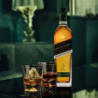 JOHNNIE WALKER 尊尼获加 绿牌苏格兰威士忌 43%vol