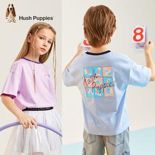Hush Puppies 暇步士 儿童纯棉圆领短袖
