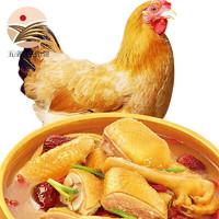 PLUS会员:莲山九鲜 三黄鸡 900g