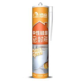 东方雨虹 WS101 中性硅酮防霉玻璃胶 300ml