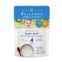 临期品:BELLAMY'S 贝拉米 有机婴儿益生元GOS米粉 125g