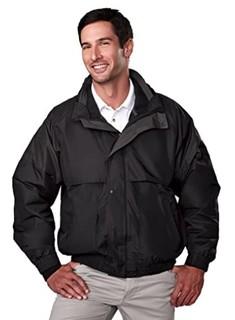 Tri-Mountain 三合一系统夹克,带隐藏式兜帽。7800 Dakota 黑色