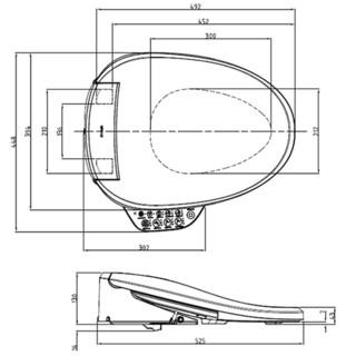 KOHLER 科勒 瑞雅系列 节水型智能马桶组合