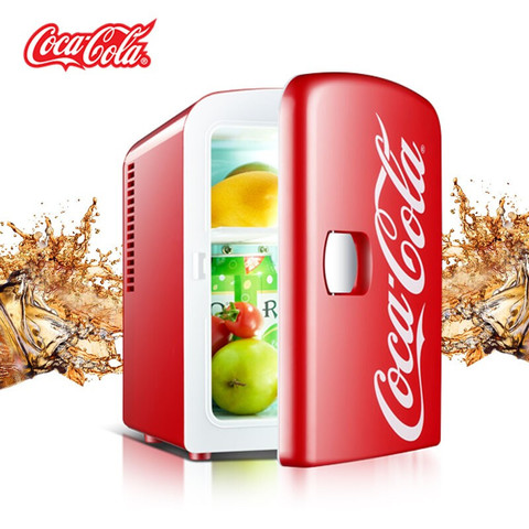 PLUS会员:Coca-Cola 可口可乐 车载冰箱 冷暖箱 4L 红色 12V