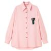 PEACEBIRD 太平鸟 米妮联名系列 女士长袖衬衫 AYCAB2A0201 粉色 L